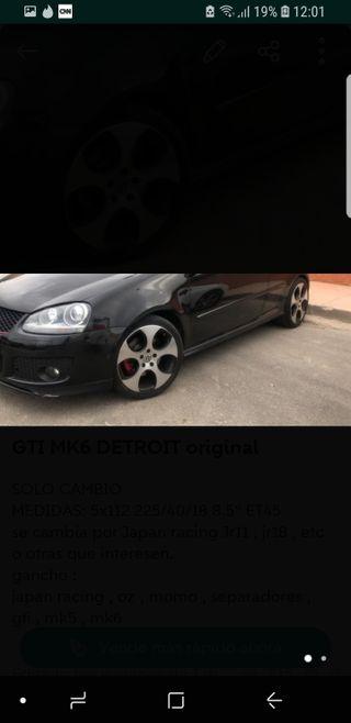 LLANTAS DETROIT GTI MK6