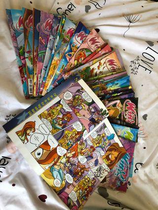 Lote 38 Revistas Winx