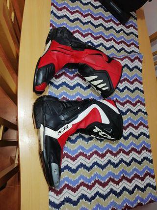 botas moto talla 43