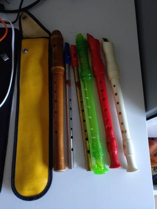 flauta dulce y tin whistle