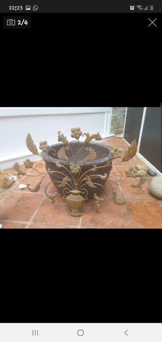 Macetero de jardin artesanal 56 cm