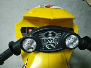 moto grande de niño