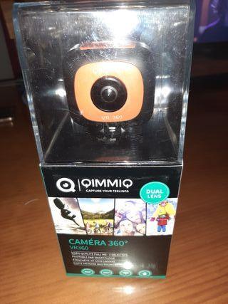 cámara 360 vr qimmiq