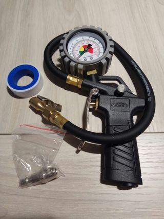 Manómetro para presión de ruedas