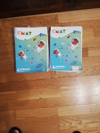 Libros texto Matematicas EMAT las nuevas Mates.