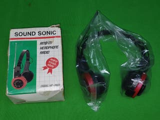CASCOS RADIOAURICULARES AM-FM SOUND SONIC VINTAGE