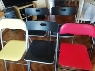 lote de sillas