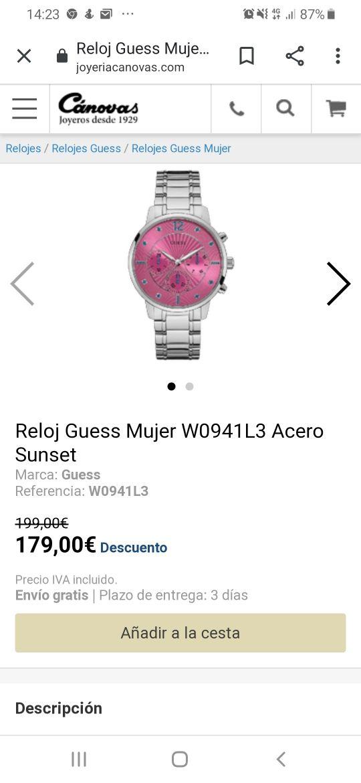 Reloj Guess mod. WL0941L3
