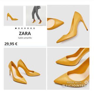 Zara Zapato tacón alto