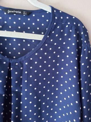 Camiseta larga manga corta Stradivarius de segunda mano por