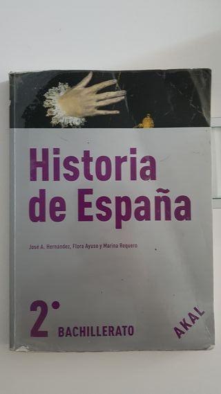 Libro de Texto HISTORIA DE ESPAÑA + Libro fuentes