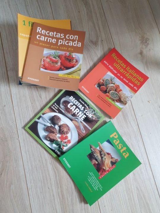 colección libros de recetas de cocina