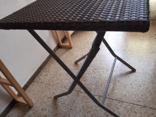 Mesa plegable de jardin