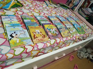Coleccion completa ingles/eapañol libros disney