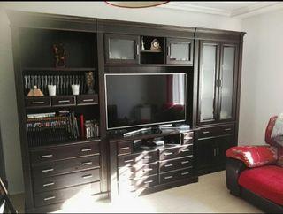 Muebles de salón madera maciza de pino