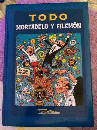 Todo Mortadelo y Filemón tapa dura
