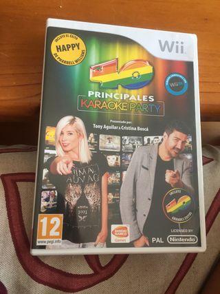 Karaoke Wii