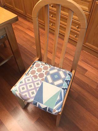 Conjunto de 6 sillas salón