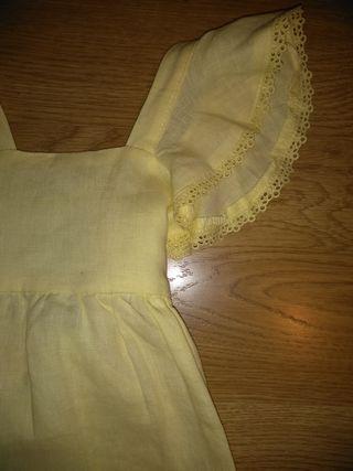 Vestido amarillo La Petite Blossom 4 años