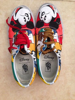 Zapatillas Vans Disney Mickey talla 44,5