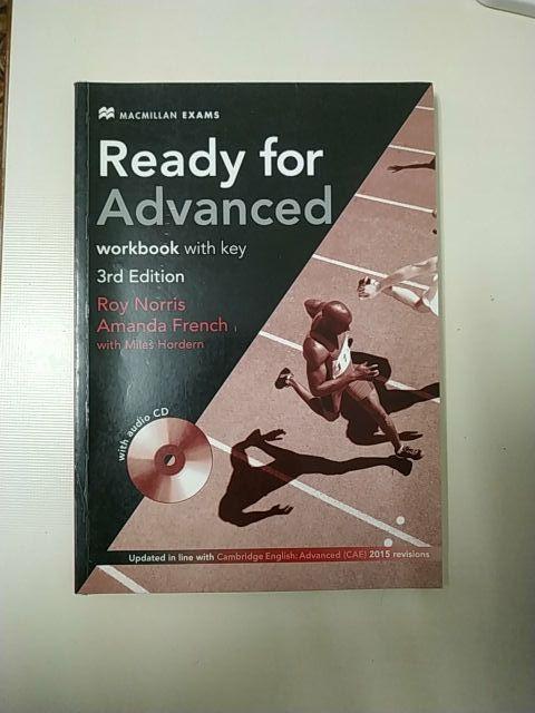libro+workbook de inglés Ready for Advanced