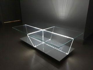 Mesa de centro cristal Ache