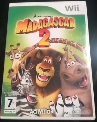 Videojuego Madagascar 2 para Wii