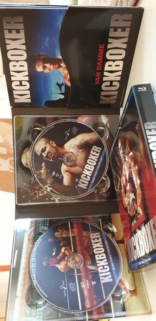 Digipak KICKBOXER Blu-ray+DVD+Libreto