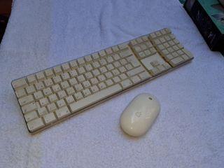 teclado y ratón inalámbricos. Apple