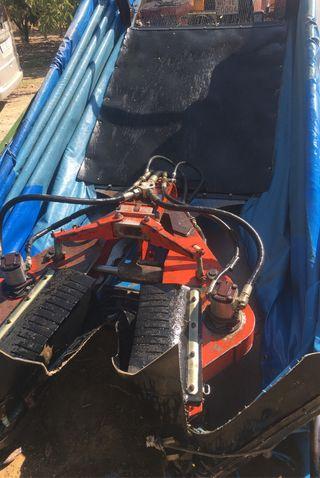Recolector, paraguas vibrador topavi para almendro