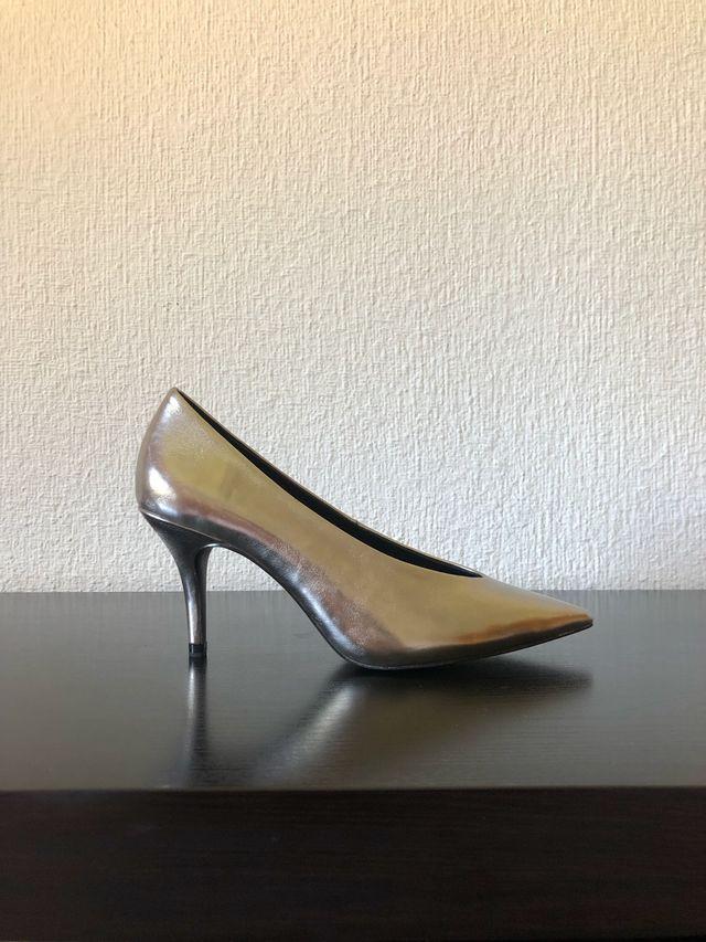 Zapato salón tacón medio