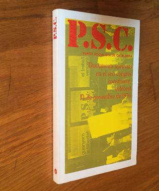 P.S.C. Partit Socialista de Catalunya