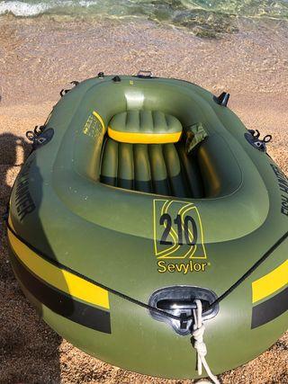 Barca hinchable SEVYLOR 210 140kg cn inflador