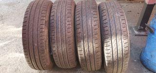 4 ruedas nuevas a estrenar pirelli 205/75/16 c