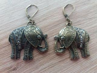 Pendientes elefantes Mango