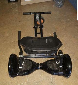 Hoverboard con Hoverkart 4x4