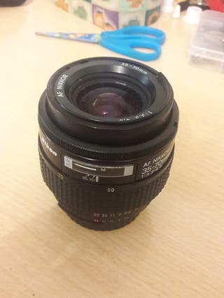 objetivo/lente nikon/af nikkor 35-70 f3.3-4.5