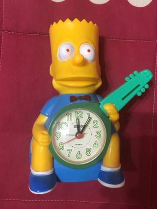 Reloj despertador Bart simpson