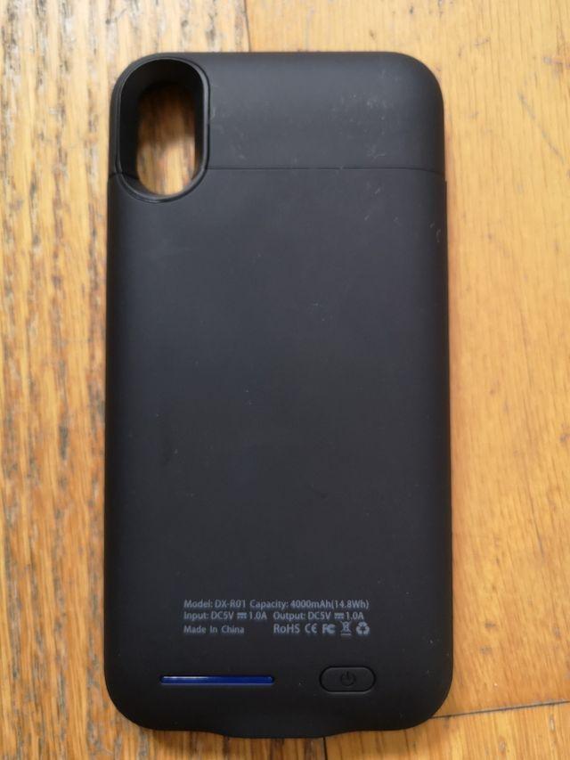 Funda Cargador iPhone Xs nueva a estrenar