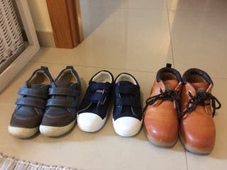 Pack zapatos niño/a. Talla 31