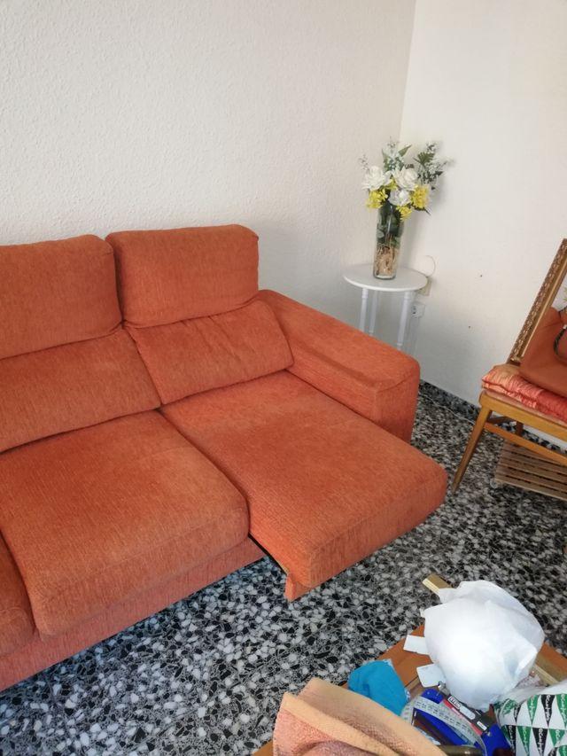 OPORTUNIDAD CONJUNTO Sillón relax,y sofa