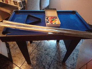Mesa de Billar+Hockey+Ping-pong Completa