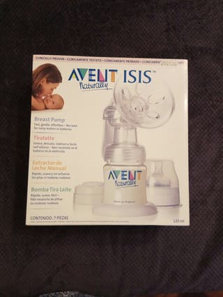 Sacaleches manual Avent ISIS