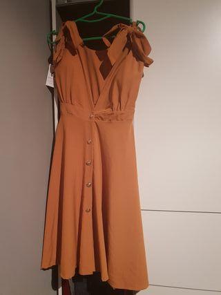 vestido precioso escote