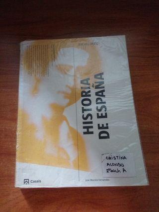 Libro de texto Historia de España 2 bach