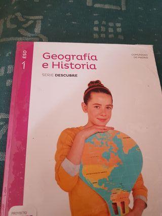 Libro Geografía e Historia 1 ESO