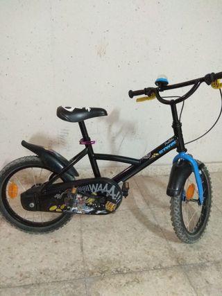 Bicicleta niño 16 pulgadas