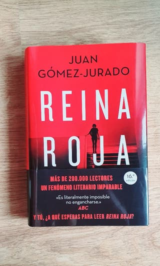 "Libro ""Reina Roja"""