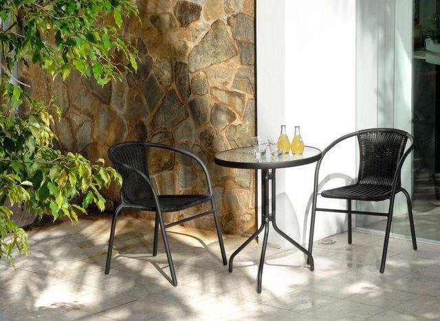 Conjunto de mesa y sillas jardín