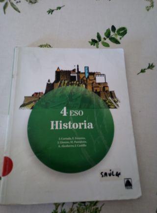 Libro historia 4 eso